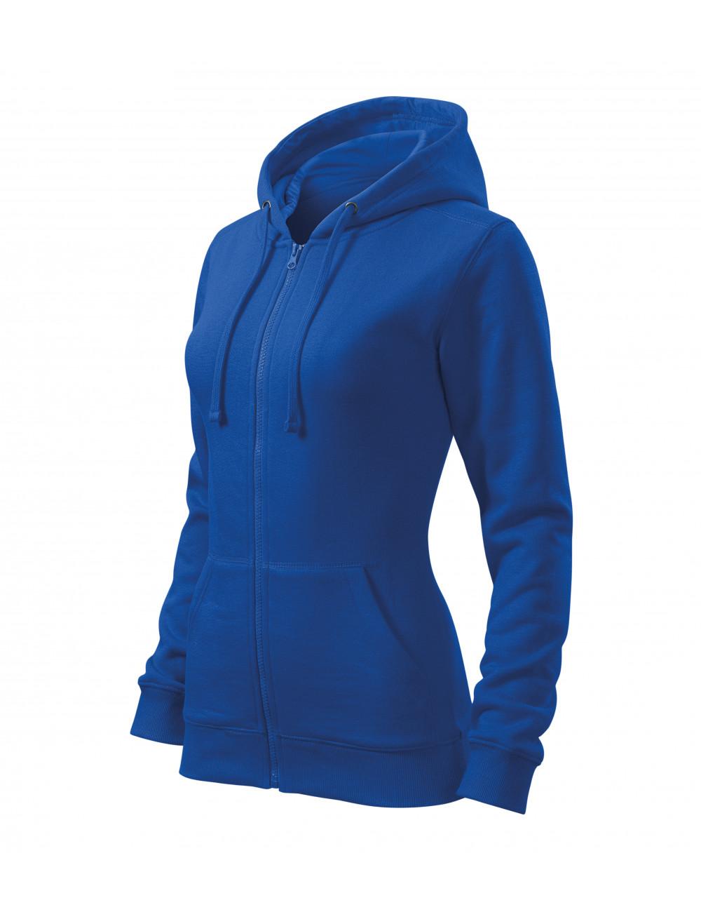 Adler MALFINI Bluza damska Trendy Zipper 411 chabrowy