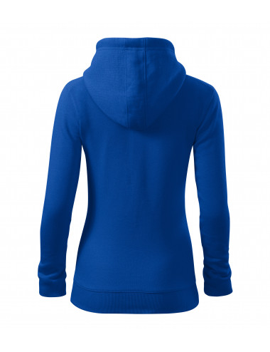 2Adler MALFINI Bluza damska Trendy Zipper 411 chabrowy