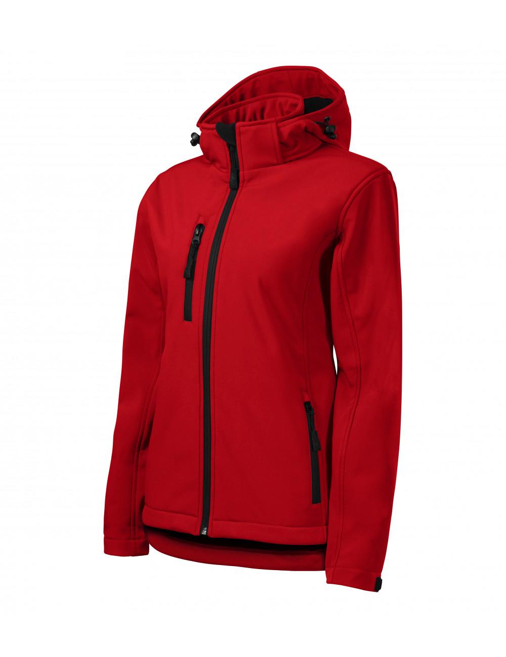 Adler MALFINI Softshell kurtka damska Performance 521 czerwony