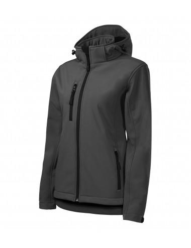 2Adler MALFINI Softshell kurtka damska Performance 521 stalowy