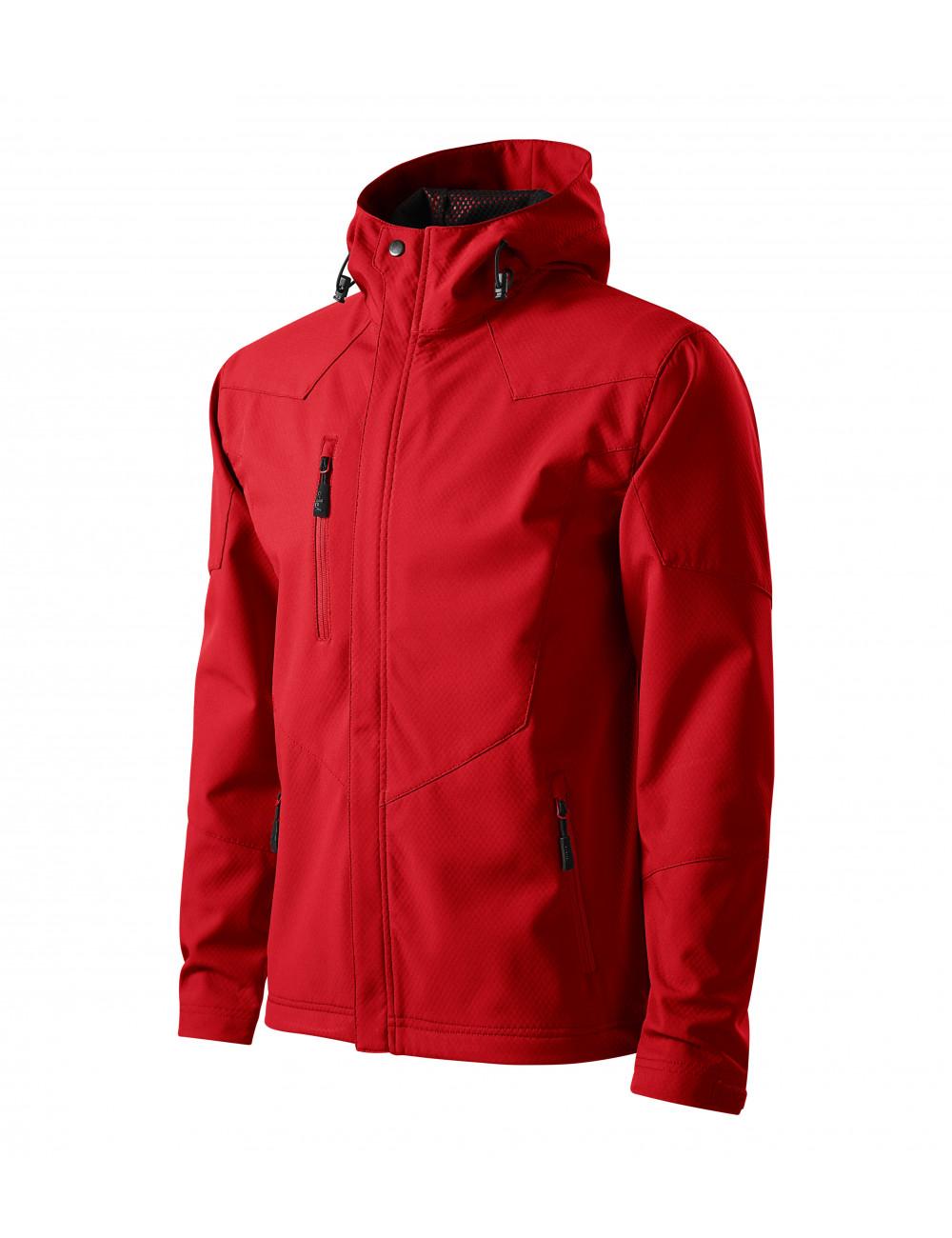 Adler MALFINI Softshell kurtka męska Nano 531 czerwony