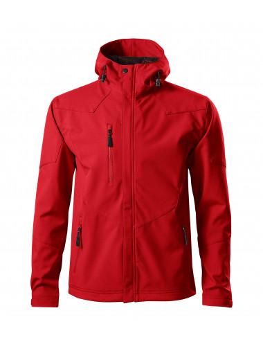 2Adler MALFINI Softshell kurtka męska Nano 531 czerwony