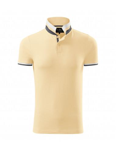2Adler MALFINIPREMIUM Koszulka polo męska Collar Up 256 bourbon vanilla