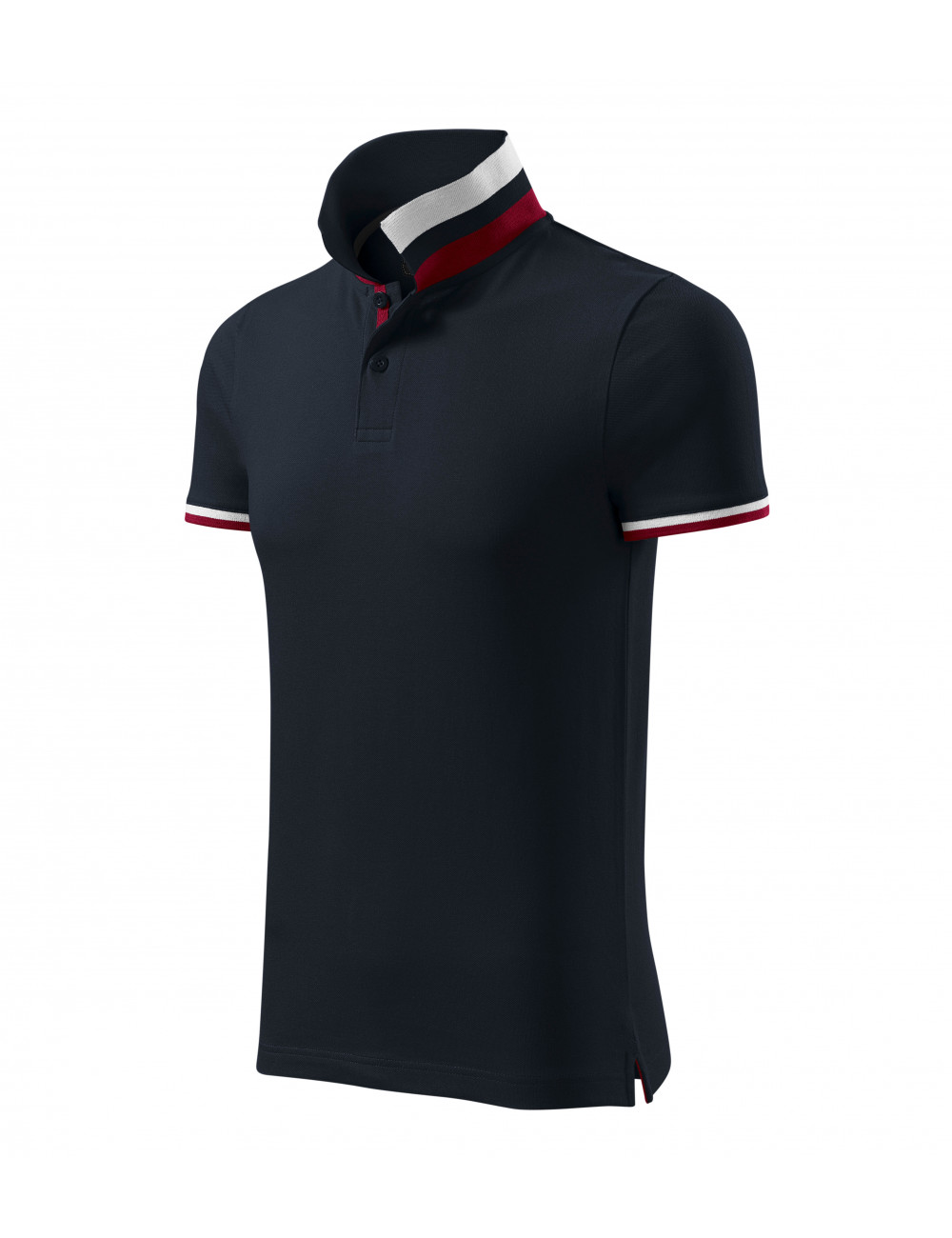 Adler MALFINIPREMIUM Koszulka polo męska Collar Up 256 dark navy