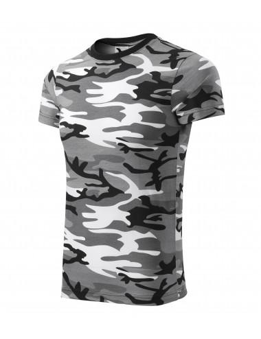 Adler MALFINI Koszulka unisex Camouflage 144 camouflage gray