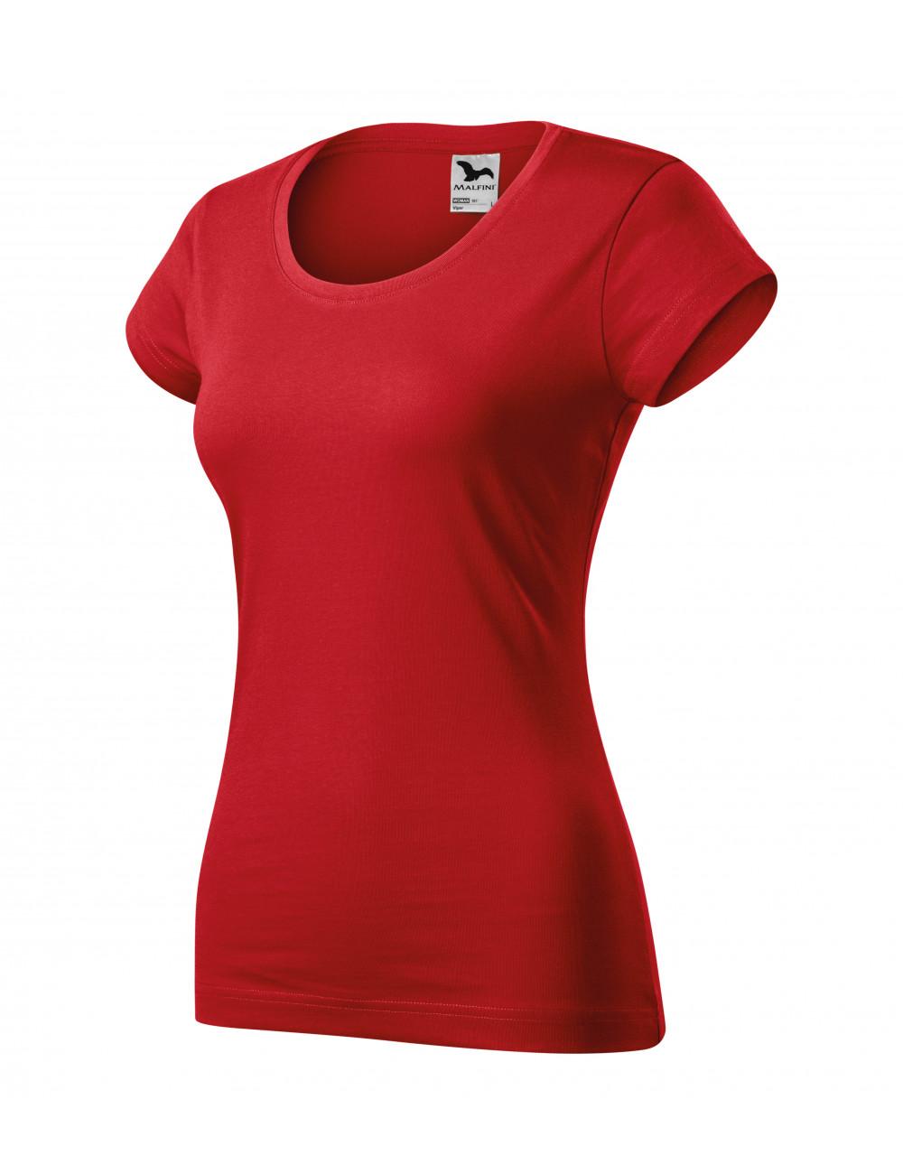Adler MALFINI Koszulka damska Viper 161 czerwony