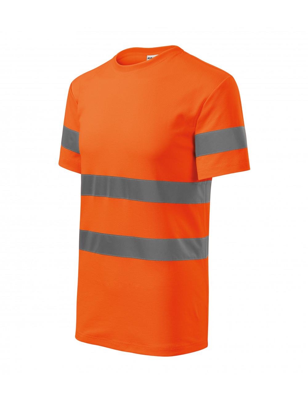 Adler RIMECK Koszulka unisex HV Protect 1V9 odblaskowo pomarańczowy