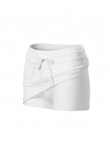Adler MALFINI Spódnica damska Two in one 604 biały