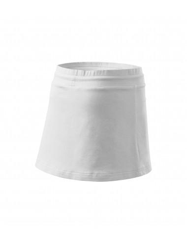 2Adler MALFINI Spódnica damska Two in one 604 biały
