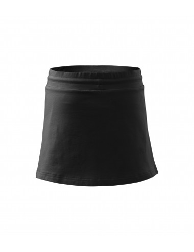 2Adler MALFINI Spódnica damska Two in one 604 czarny