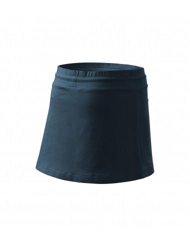 2Adler MALFINI Spódnica damska Two in one 604 granatowy