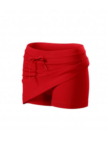 2Adler MALFINI Spódnica damska Two in one 604 czerwony