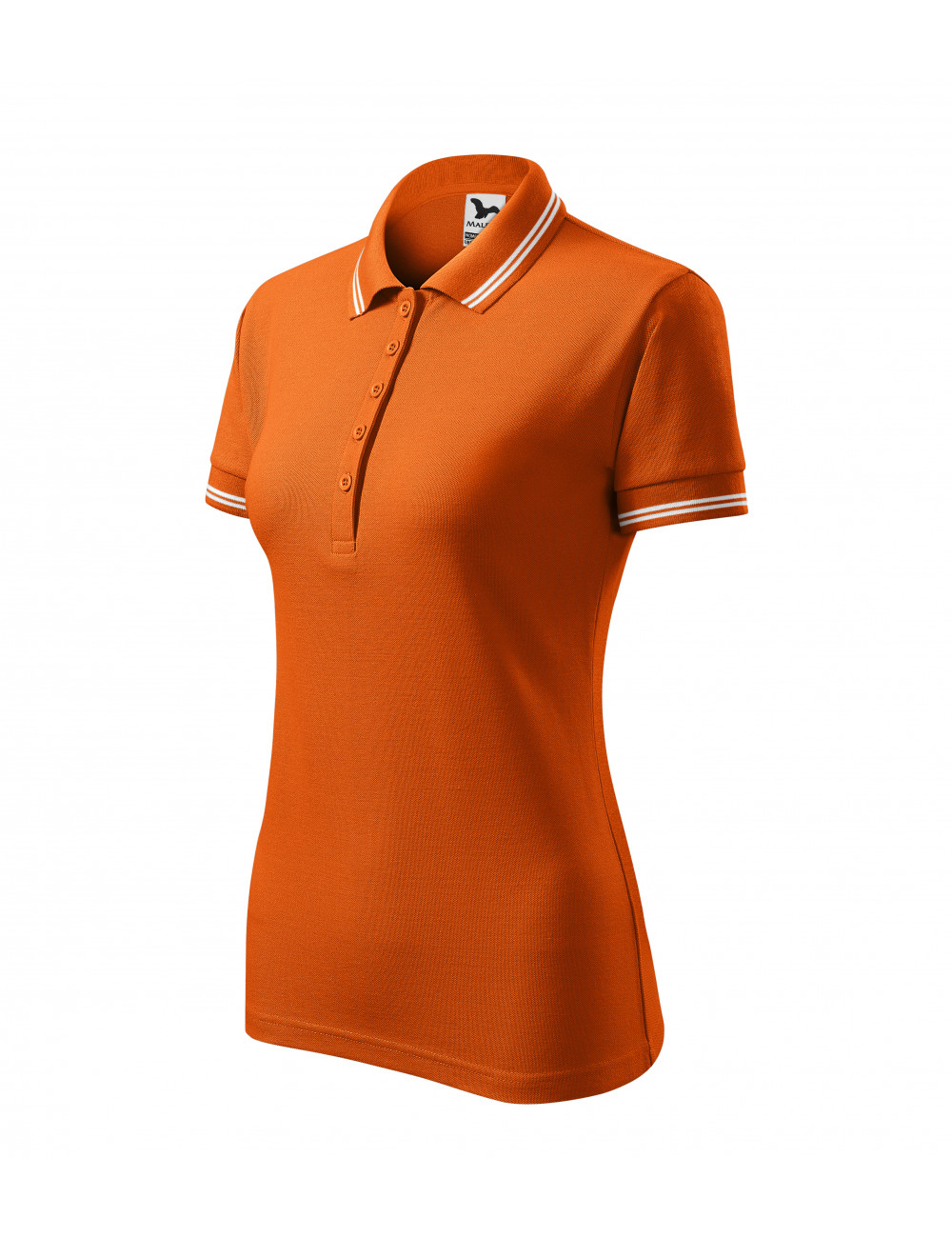 Adler MALFINI Koszulka polo damska Urban 220 pomarańczowy
