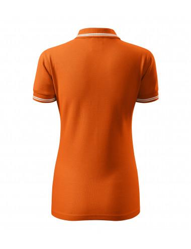 2Adler MALFINI Koszulka polo damska Urban 220 pomarańczowy
