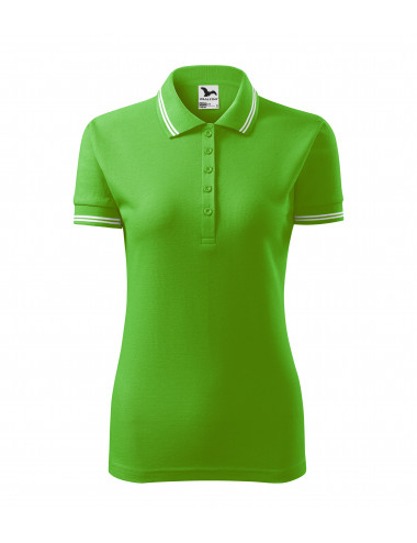 2Adler MALFINI Koszulka polo damska Urban 220 green apple