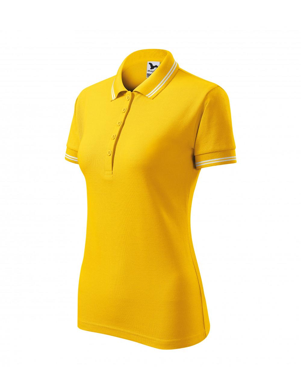 Adler MALFINI Koszulka polo damska Urban 220 żółty