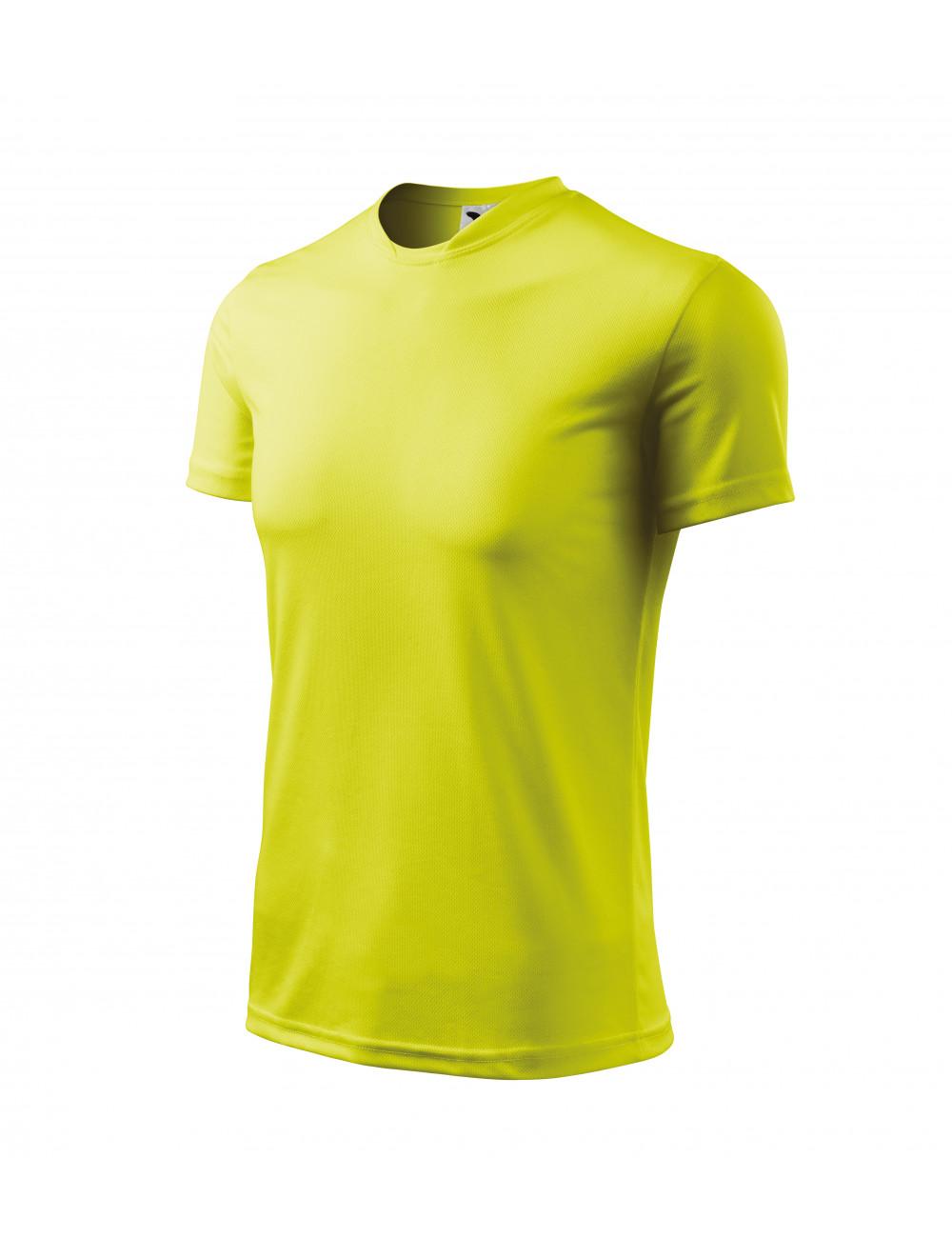 Adler MALFINI Koszulka dziecięca Fantasy 147 neon yellow