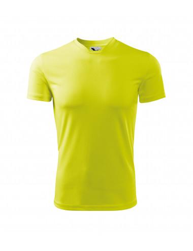 2Adler MALFINI Koszulka dziecięca Fantasy 147 neon yellow