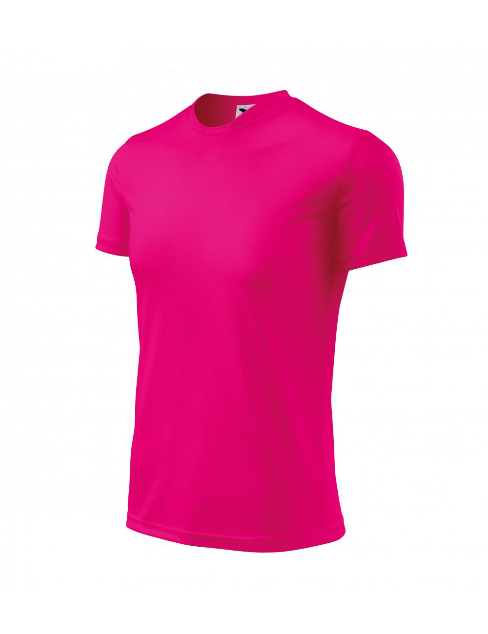Adler MALFINI Koszulka dziecięca Fantasy 147 neon różowy