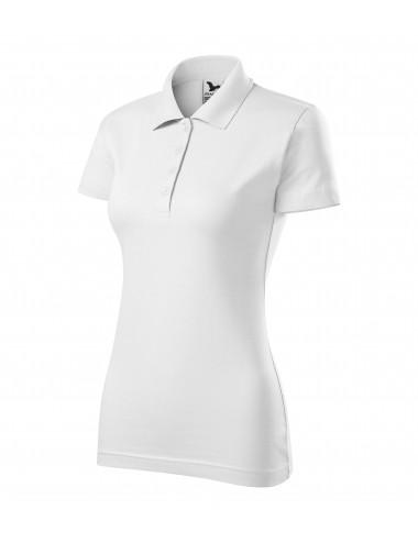 Adler MALFINI Koszulka polo damska Single J. 223 biały
