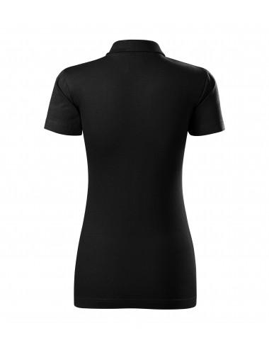 2Adler MALFINI Koszulka polo damska Single J. 223 czarny