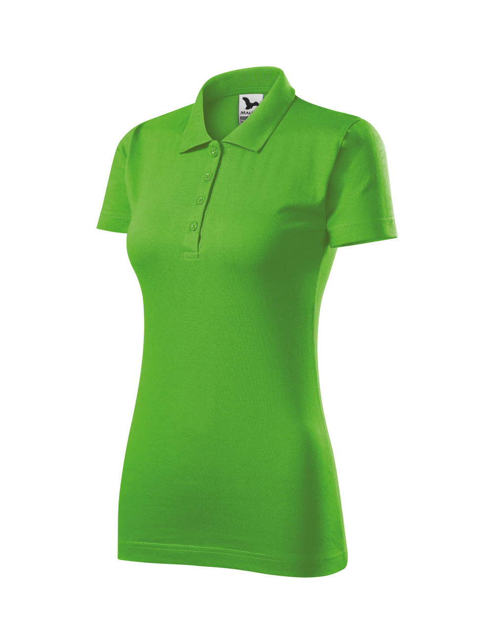 Adler MALFINI Koszulka polo damska Single J. 223 green apple