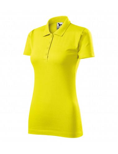 2Adler MALFINI Koszulka polo damska Single J. 223 cytrynowy