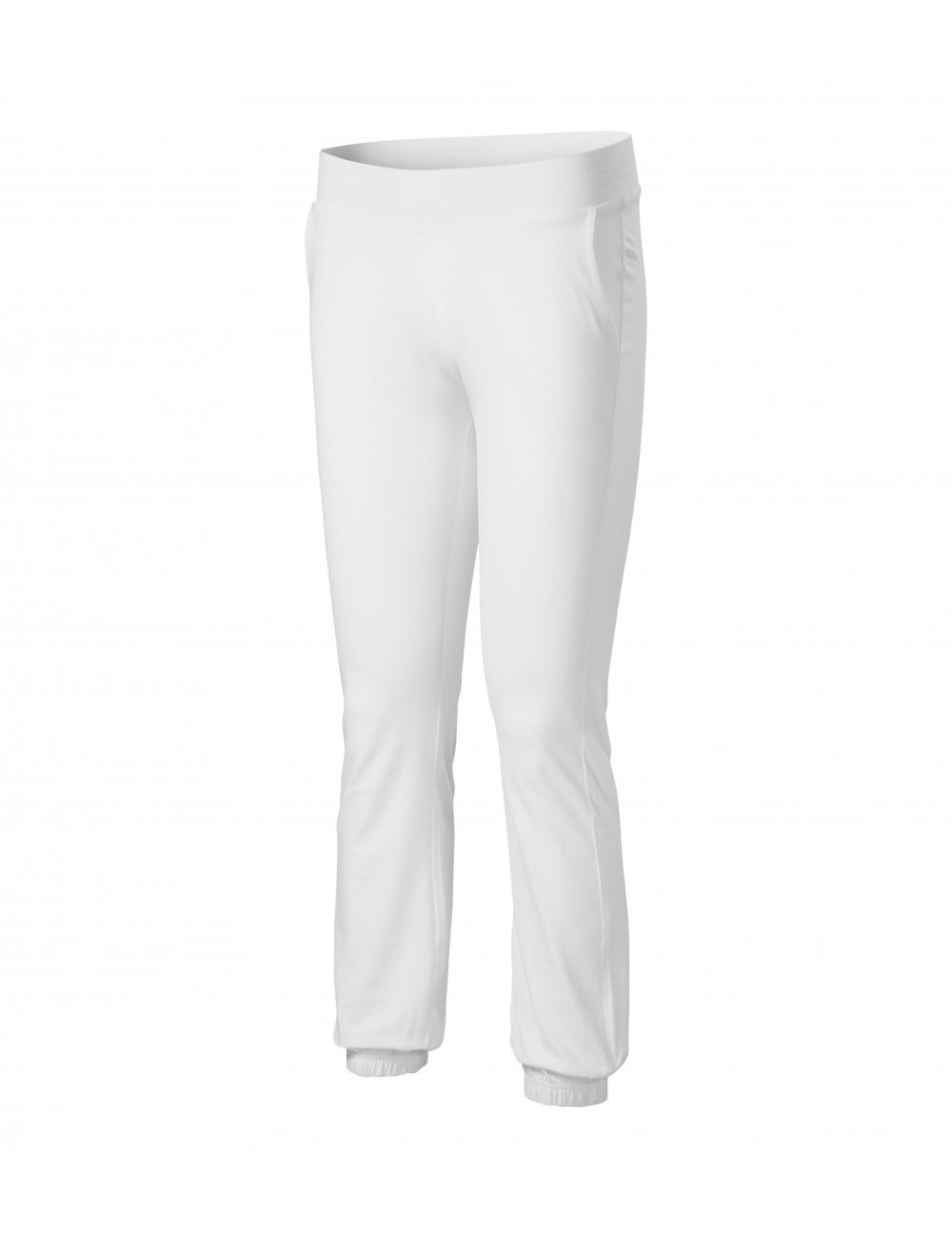 Adler MALFINI Spodnie dresowe damskie Leisure 603 biały