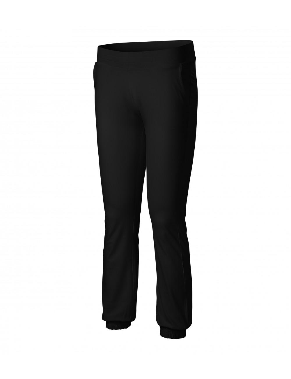 Adler MALFINI Spodnie dresowe damskie Leisure 603 czarny