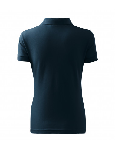 2Adler MALFINI Koszulka polo damska Cotton 213 granatowy