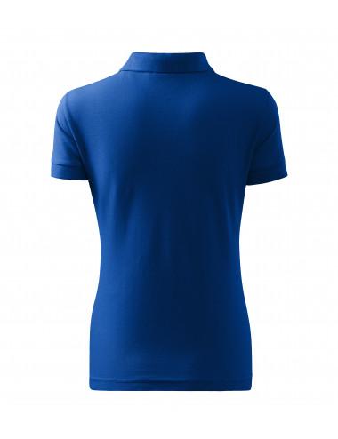 2Adler MALFINI Koszulka polo damska Cotton 213 chabrowy
