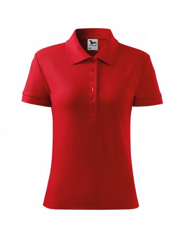 2Adler MALFINI Koszulka polo damska Cotton 213 czerwony