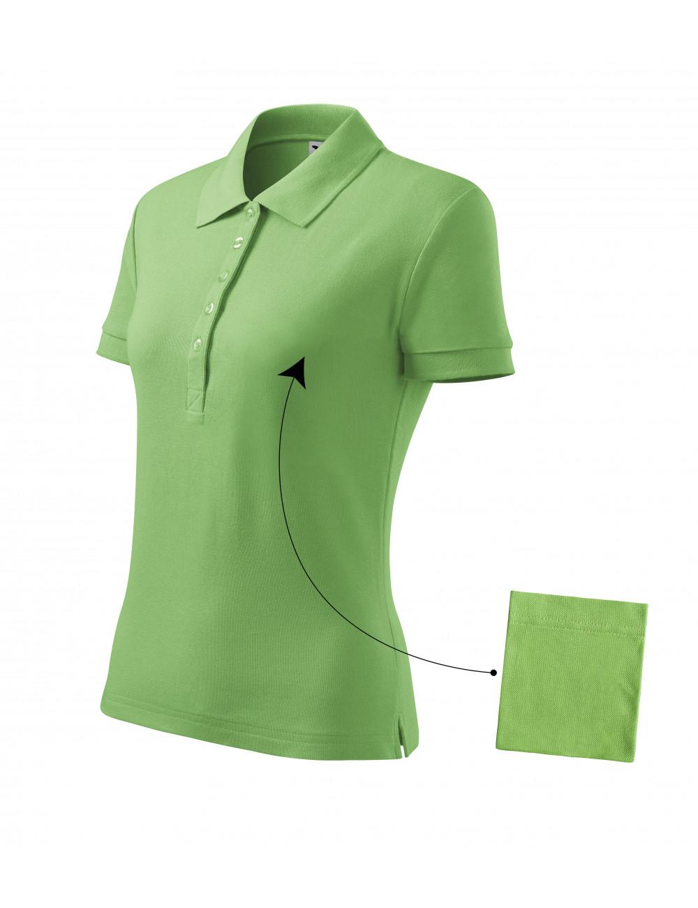 Adler MALFINI Koszulka polo damska Cotton 213 groszkowy