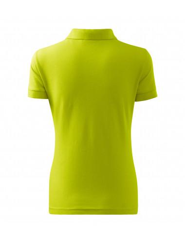 2Adler MALFINI Koszulka polo damska Cotton 213 limetka