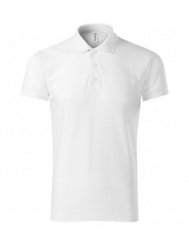 2Adler PICCOLIO Koszulka polo męska Joy P21 biały