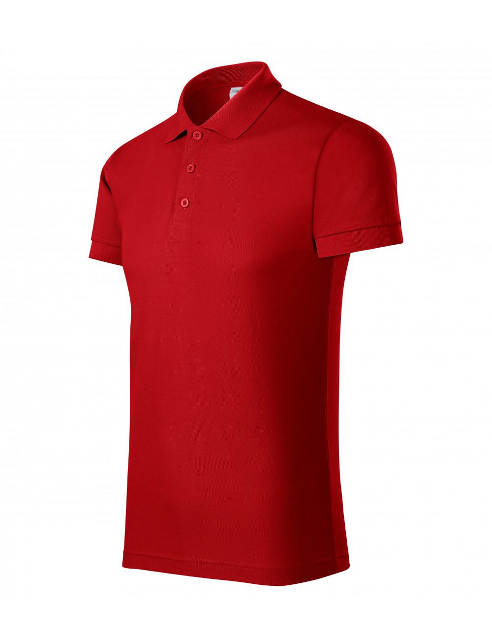 Adler PICCOLIO Koszulka polo męska Joy P21 czerwony