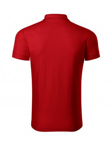 2Adler PICCOLIO Koszulka polo męska Joy P21 czerwony