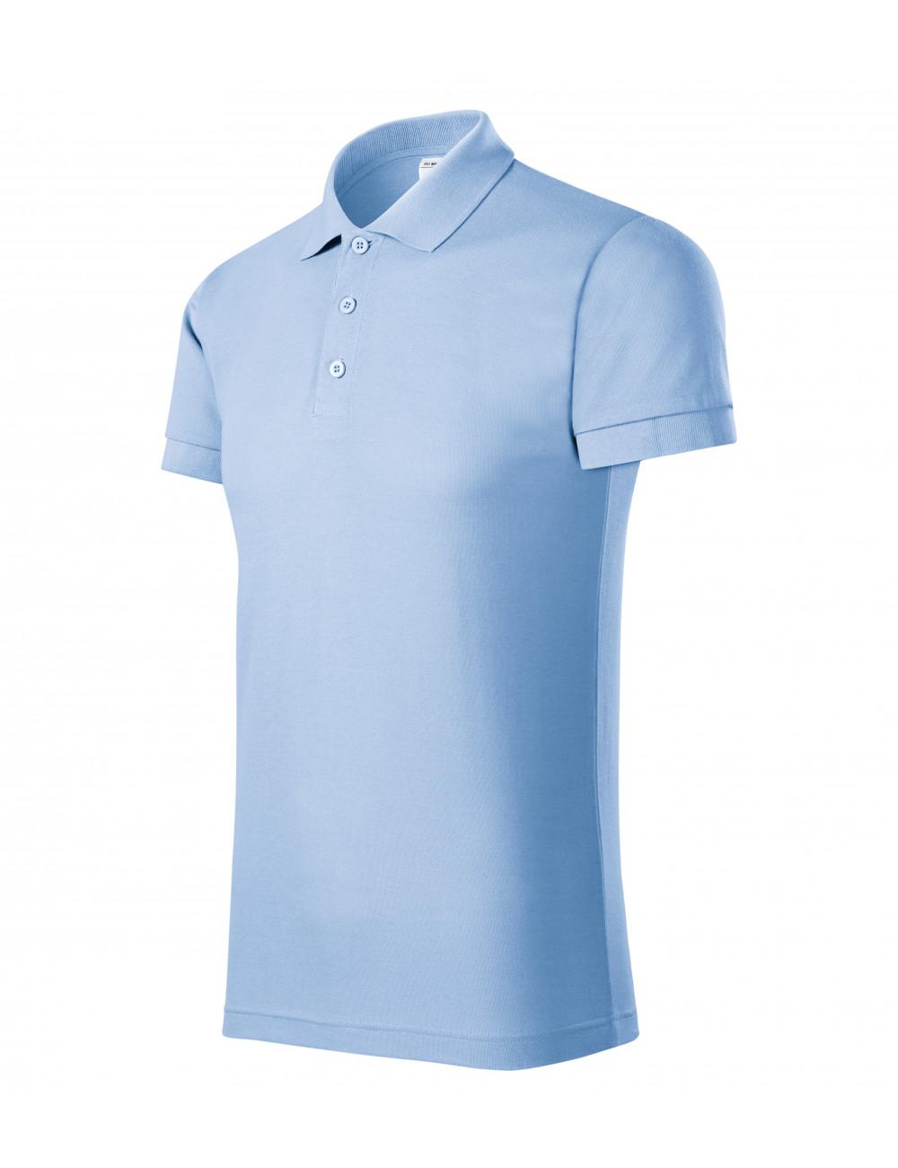 Adler PICCOLIO Koszulka polo męska Joy P21 błękitny