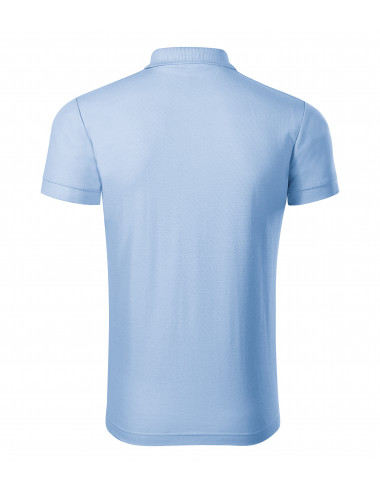 2Adler PICCOLIO Koszulka polo męska Joy P21 błękitny