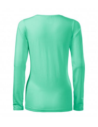 2Adler MALFINI Koszulka damska Slim 139 miętowy