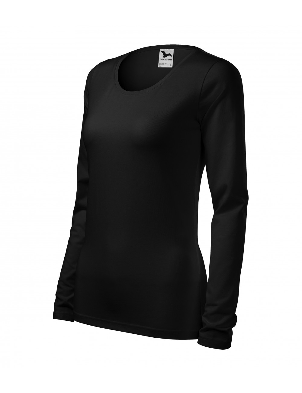 Adler MALFINI Koszulka damska Slim 139 czarny