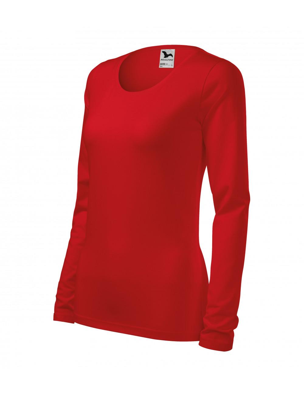 Adler MALFINI Koszulka damska Slim 139 czerwony