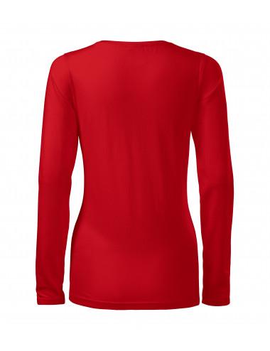 2Adler MALFINI Koszulka damska Slim 139 czerwony