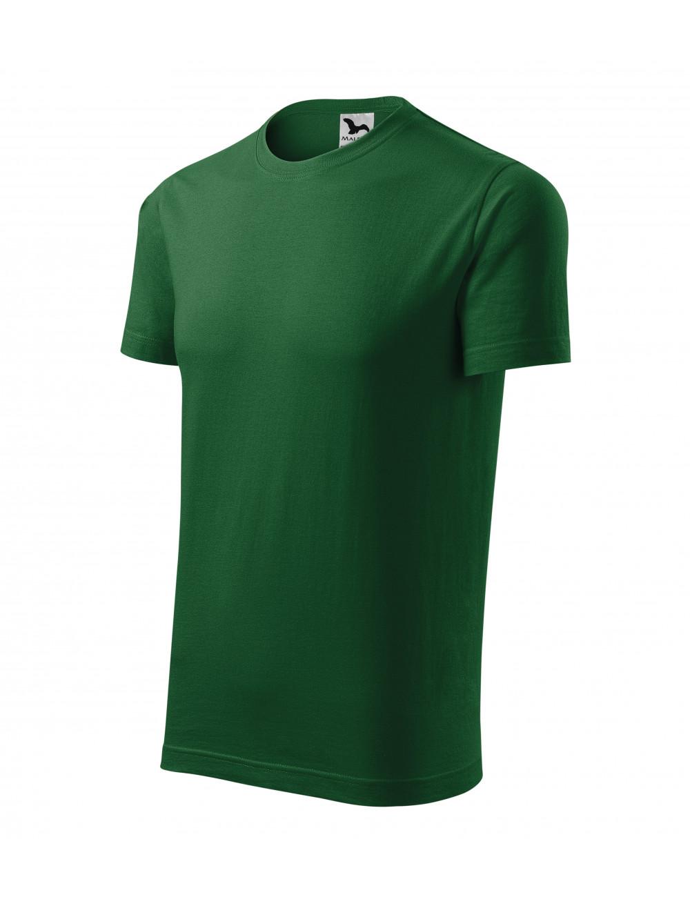 Adler MALFINI Koszulka unisex Element 145 zieleń butelkowa