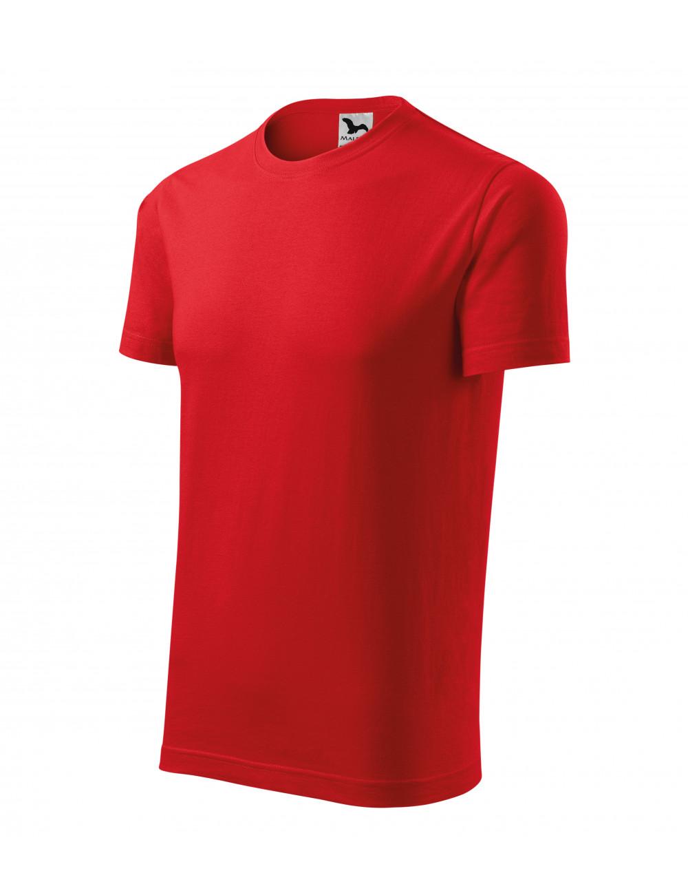 Adler MALFINI Koszulka unisex Element 145 czerwony