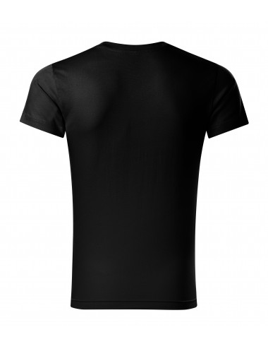 2Adler MALFINI Koszulka męska Slim Fit V-neck 146 czarny