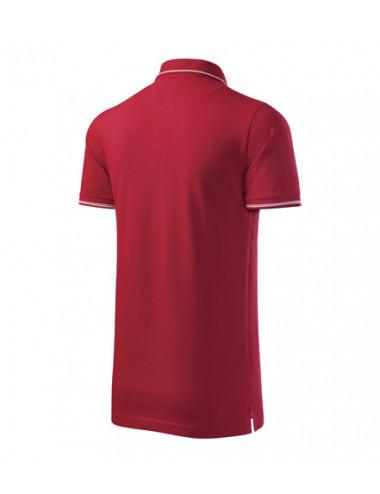 2Adler MALFINIPREMIUM Koszulka polo męska Perfection plain 251 formula red