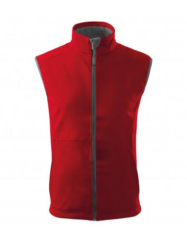 2Adler MALFINI Softshell kamizelka męska Vision 517 czerwony
