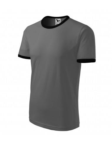 Adler MALFINI Koszulka unisex Infinity 131 ciemny khaki
