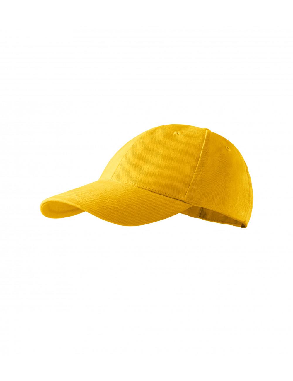 Adler MALFINI Czapka dziecięca 6P Kids 303 żółty